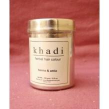 Khadi Naturalna henna do farbowania włosów z indigo, bhringraj i amlą