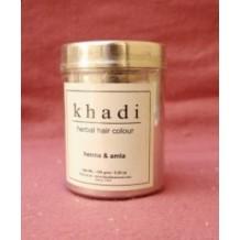 Khadi Naturalna henna do farbowania włosów z indigo, bhringraj i amlą.